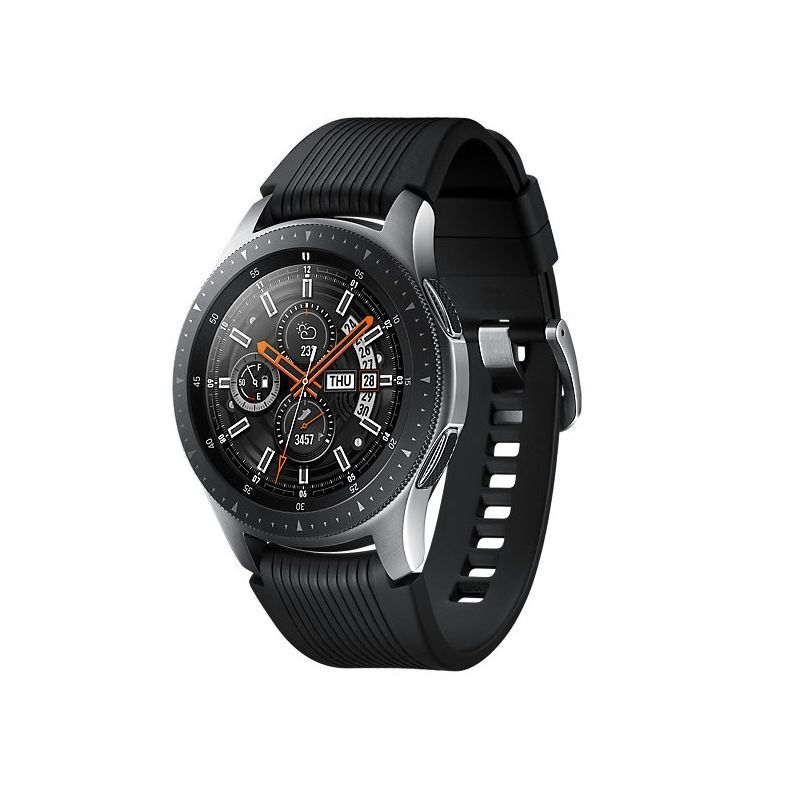 Išmanusis laikrodis Samsung Galaxy Watch 46mm, silver. Šonas