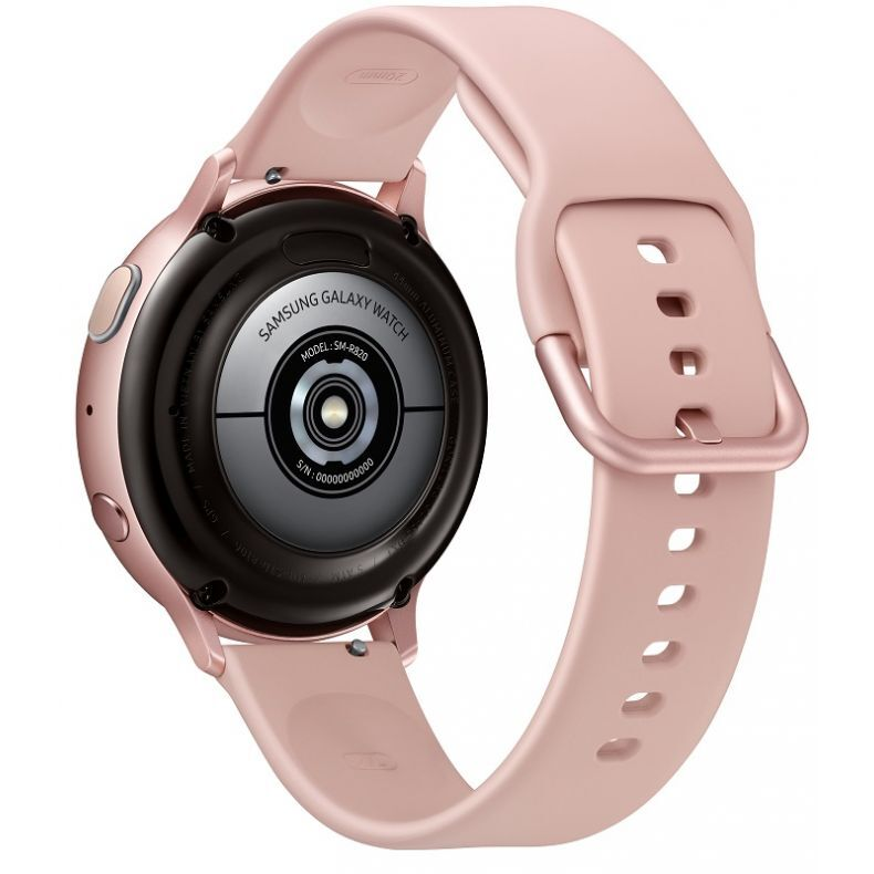 SAMSUNG Galaxy Watch Active2 Aliuminis, gold rose. Nugarėlė