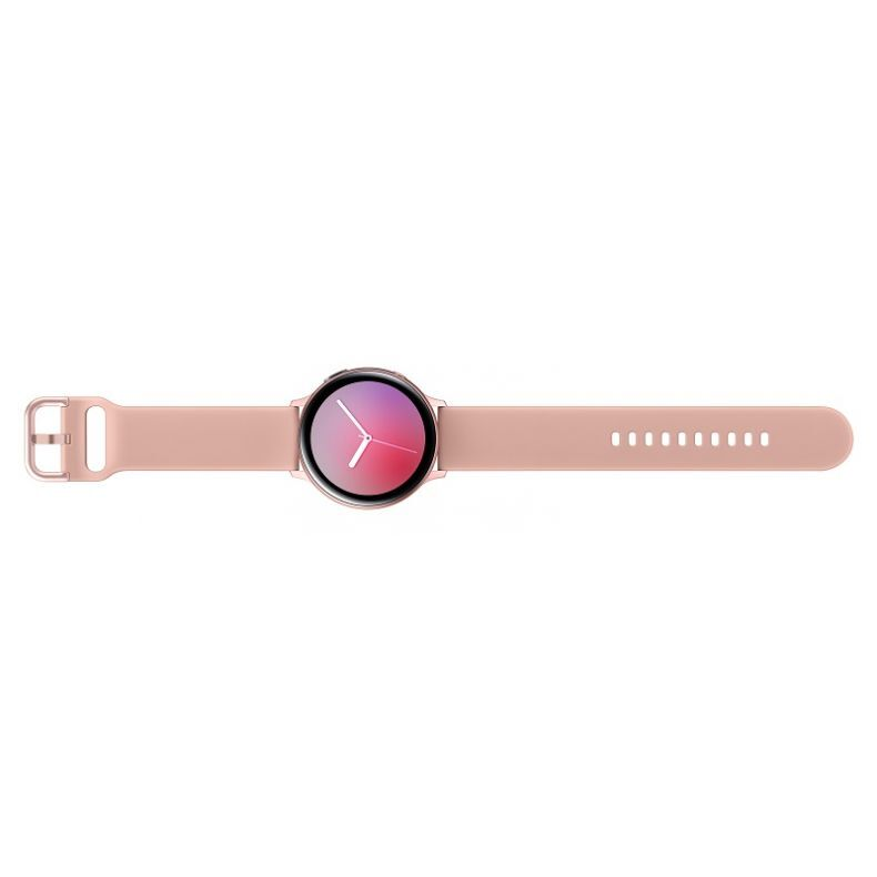 SAMSUNG Galaxy Watch Active2 Aliuminis, gold rose. Viršus