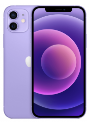 APPLE iPhone 12 128GB Purple priekis-nugarėlė