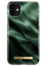 IDEAL Fashion dėklas iPhone 11/XR, Emerald satin. Nugarėlė