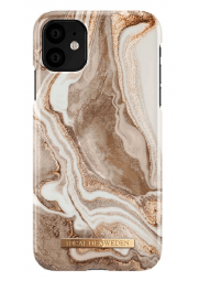 iDeal Fashion dėklas iPhone 11/XR, Golden sand marble