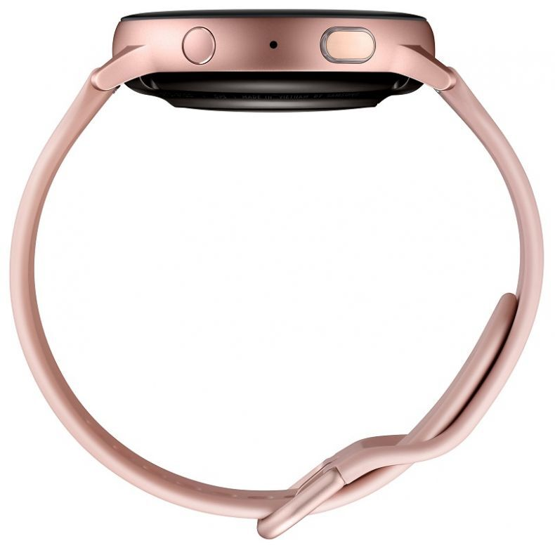 SAMSUNG Galaxy Watch Active2 Aliuminis, gold rose. Kraštas